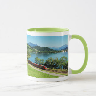 Ringer cup green large Alpsee with Immenstadt