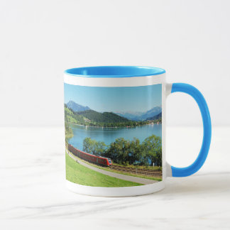 Ringer cup light blue large Alpsee with Immenstadt