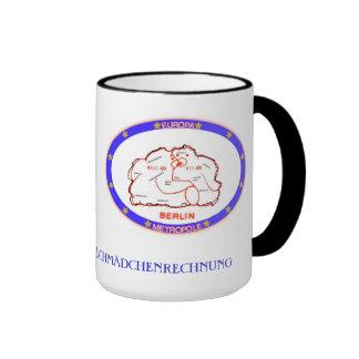 Ringer cup coffee mugs