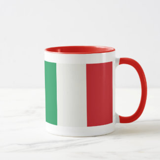 Ringer cup red Italy flag