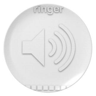 ringer dinner plate
