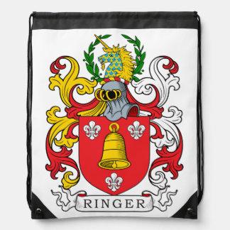 Ringer Family Crest Cinch Bags