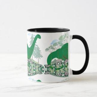 Ringer Mug Brontosaurus, Apatosaurus: Bronto Baby