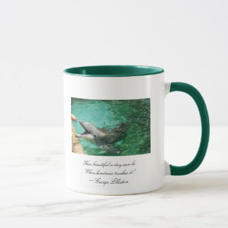 Ringer Mug -  How beautiful a day can be Whe...