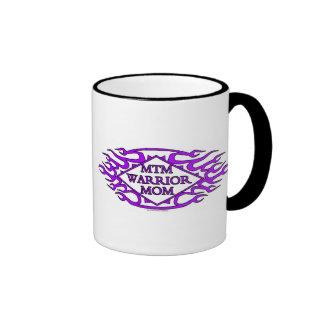 Ringer Mug - MTM Warrior Mom