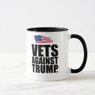 Ringer Mug - Vets Against Trump
