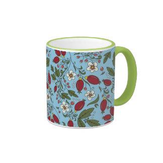 Ringer Mug with berries