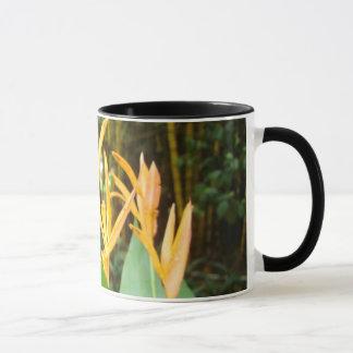 Ringer mug with floral print