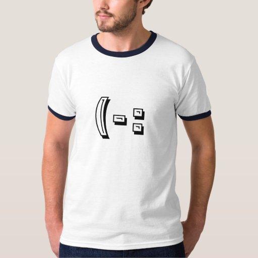"""""""(-:"""" Ringer T-Shirt"""