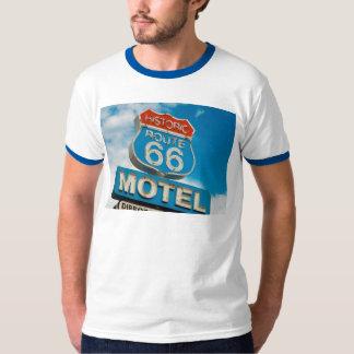 Ringer T-Shirt, Retro Iconic Travel Photo T-Shirt