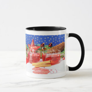 Ringertasse black glad Christmas Mug
