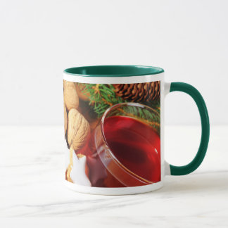 Ringertasse green glad celebration mug