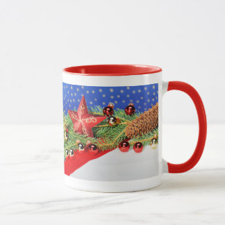 Ringertasse red glad Christmas Mug