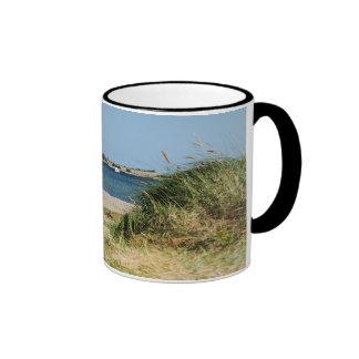 Ringertasse with photo of the Fehmarnsund Ringer Mug