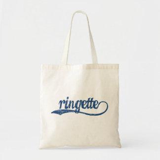 Ringette Tote Bag (Blue writing)