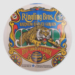 Ringing Bros and Barrum & Bailey Retro Theater Stickers