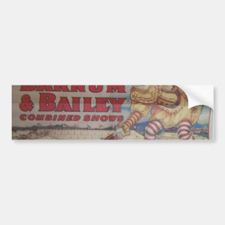 Ringing Bros and Barrum & Bailey Vintage Theater Bumper Sticker