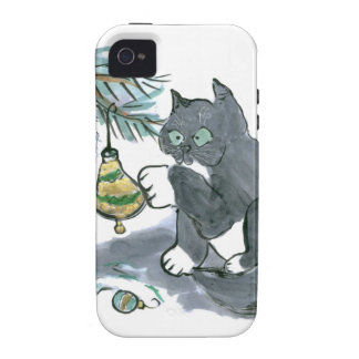 Ringing the Bell by Kitty Sam Case-Mate iPhone 4 Cases