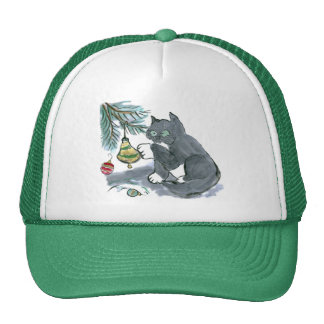 Ringing the Bell by Kitty Sam Trucker Hat