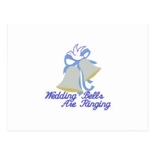 Wedding Bells Are Ringing Postcards Zazzle