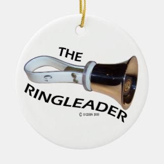 Ringleader Ceramic Ornament
