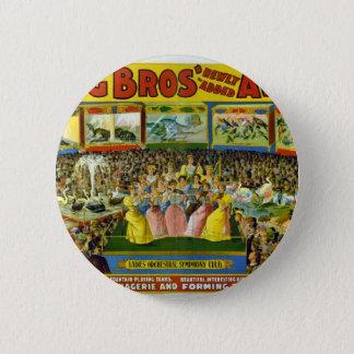 Ringling Bros' / Aviary & Aquarium Button