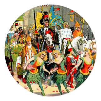 Ringling Bros: Joan of Arc Card
