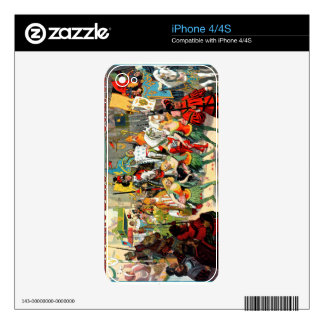 Ringling Bros: Joan of Arc iPhone 4S Decal