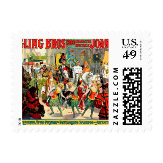 Ringling Bros: Joan of Arc Postage