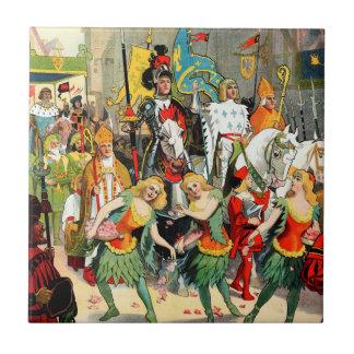Ringling Bros: Juana de Arco Azulejo Cuadrado Pequeño