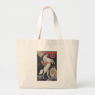 Ringling Bros. / Madam Ada Castello Large Tote Bag