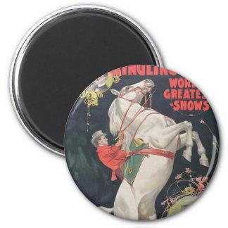Ringling Bros. / Madam Ada Castello Magnet