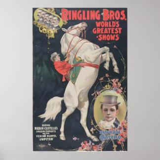 Ringling Bros. / Madam Ada Castello Poster
