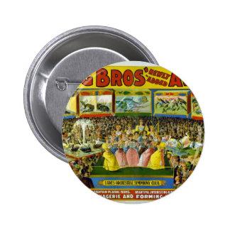 Ringling Bros pajarera y acuario Pins
