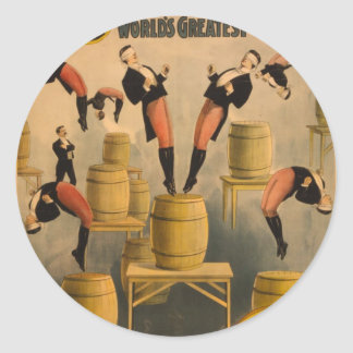 Ringling Bros. / Raschetta Bros. Classic Round Sticker