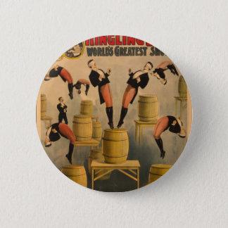 Ringling Bros. / Raschetta Bros. Pinback Button