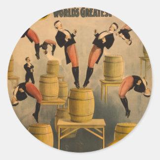 Ringling Bros. / Raschetta Bros. Stickers