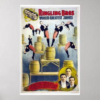 Ringling Bros Vintage Circus Poster