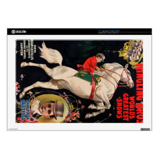 "Ringling Bros. World's Greatest Shows 17"" Laptop Skins"