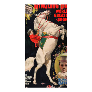 Ringling Bros. World's Greatest Shows Card