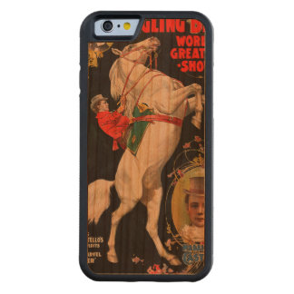 Ringling Bros. World's Greatest Shows Carved Cherry iPhone 6 Bumper Case