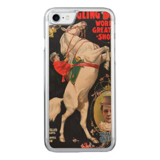 Ringling Bros. World's Greatest Shows Carved iPhone 7 Case