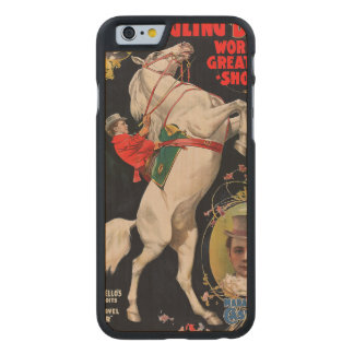 Ringling Bros. World's Greatest Shows Carved Maple iPhone 6 Slim Case