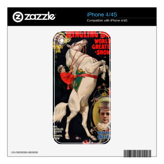 Ringling Bros. World's Greatest Shows iPhone 4 Decals