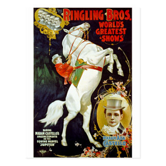 Ringling Bros. World's Greatest Shows Postcard