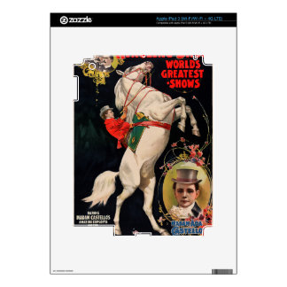 Ringling Bros. World's Greatest Shows Skins For iPad 3