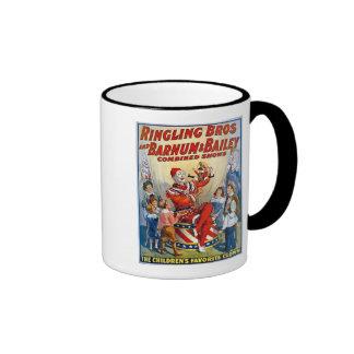 Ringling Brothers & Barnum & Bailey Vintage Clown Ringer Mug