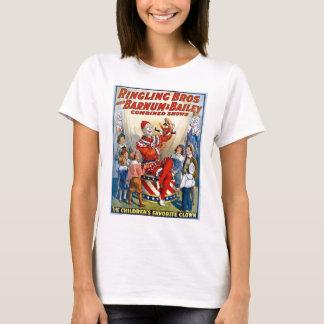 Ringling Brothers & Barnum & Bailey Vintage Clown T-Shirt