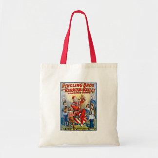 Ringling Brothers & Barnum & Bailey Vintage Clown Tote Bag