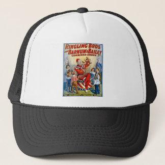 Ringling Brothers & Barnum & Bailey Vintage Clown Trucker Hat